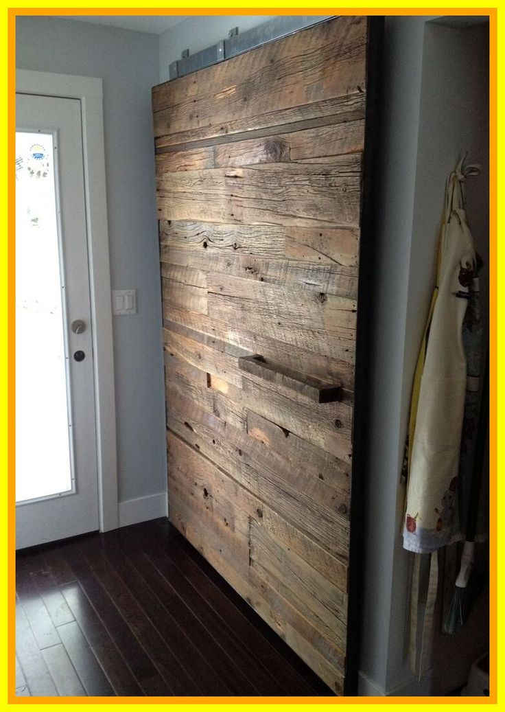 54 reference of Barn Door Overlapping pantry in 2020