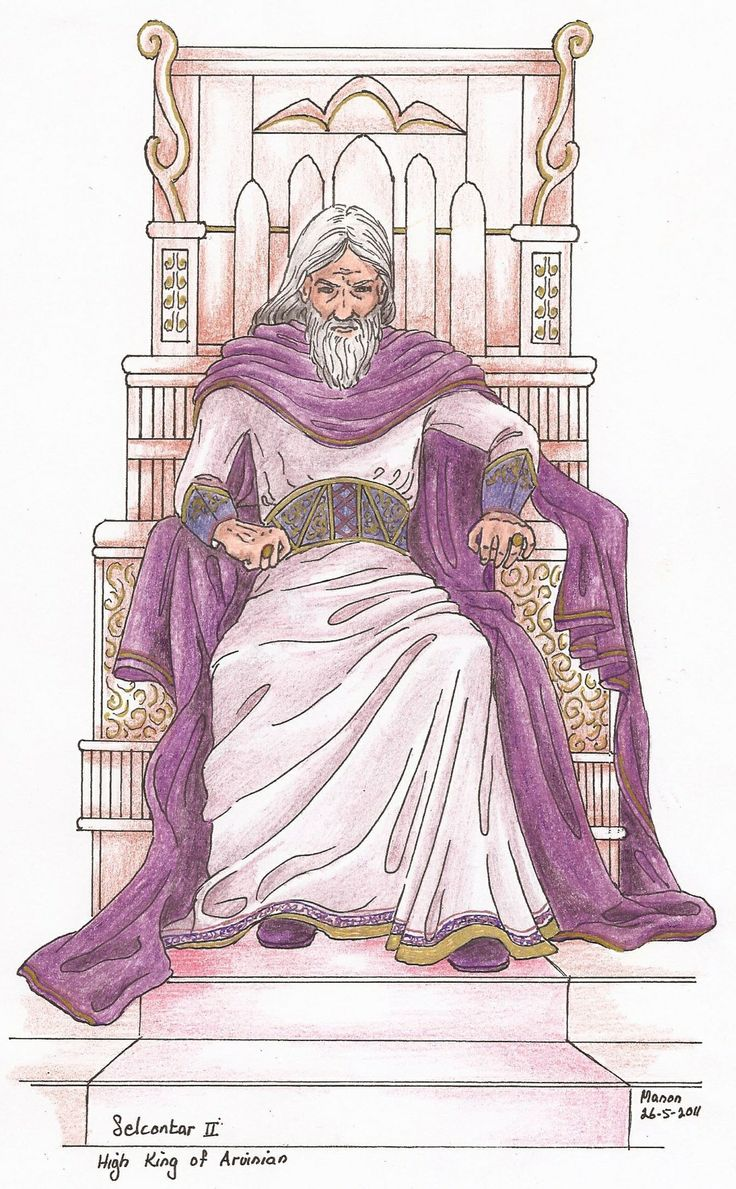 King Selconta from the book, SIRION, by Ivano Massari. http://www.gypsyshadow.com/IvanoMassari.html#top