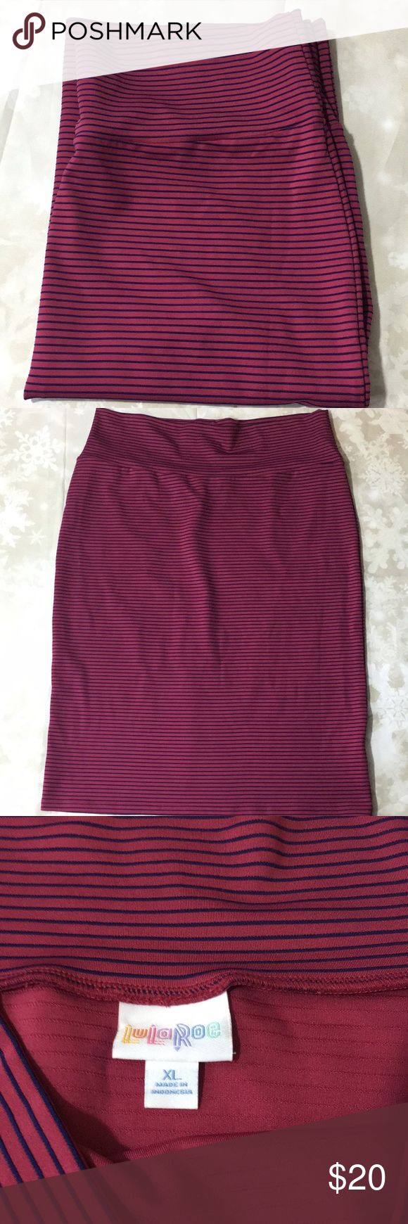 NWOT LulaRoe XL  Cassie Skirt New without tags LLR Cassie Skirt LuLaRoe Skirts Pencil