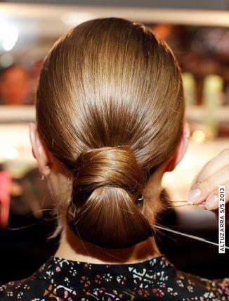 Peinados novia_recogido bajo