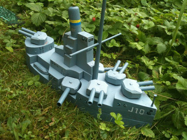 wooden toy, Battleship