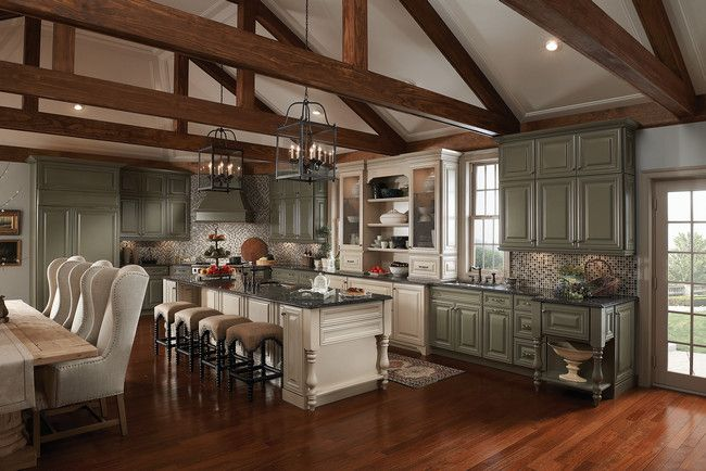Kitchen, Classically Traditional, Photo 125 - KraftMaid Photo GalleryCabinets Style, Cabinets Colors, Dreams Kitchens, Photos Gallery, Traditional Kitchens, Kitchens Ideas, Kitchens Cabinets, Kitchen Cabinets, Painting Cabinets