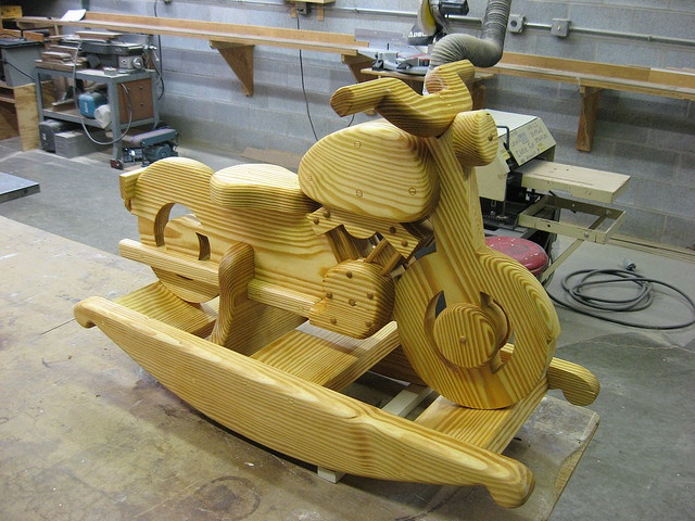 Free wooden motorcycle rocking horse plans woodworking for Woodworking plan for motorcycle rocker toy