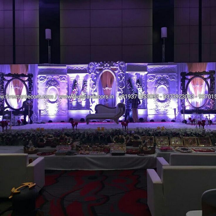 wedding stage decoration pics%0A  Wedding  decor  fibre  backdrop  panel sale www fivestardecors com