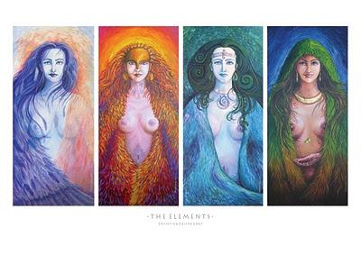 "The Elements, by ""A mermaid in the attic"": Inspiration, Sacred Feminine, Lement Goddesses, Amermaidintheatt Etsy, Mermaids, Elements Goddesses, Etsy Shops, Divine Feminine"
