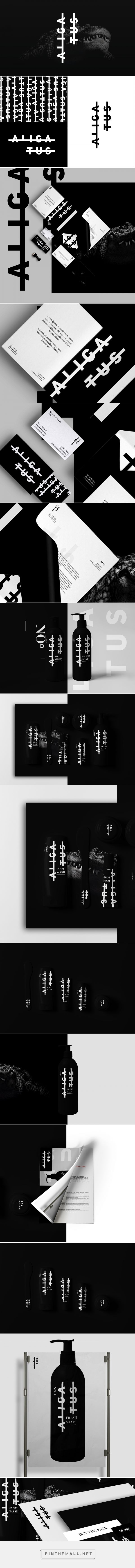 Aligatus Branding and Packaging by Kristoffer Kvale on Behance | Fivestar Branding – Design and Branding Agency & Inspiration Gallery