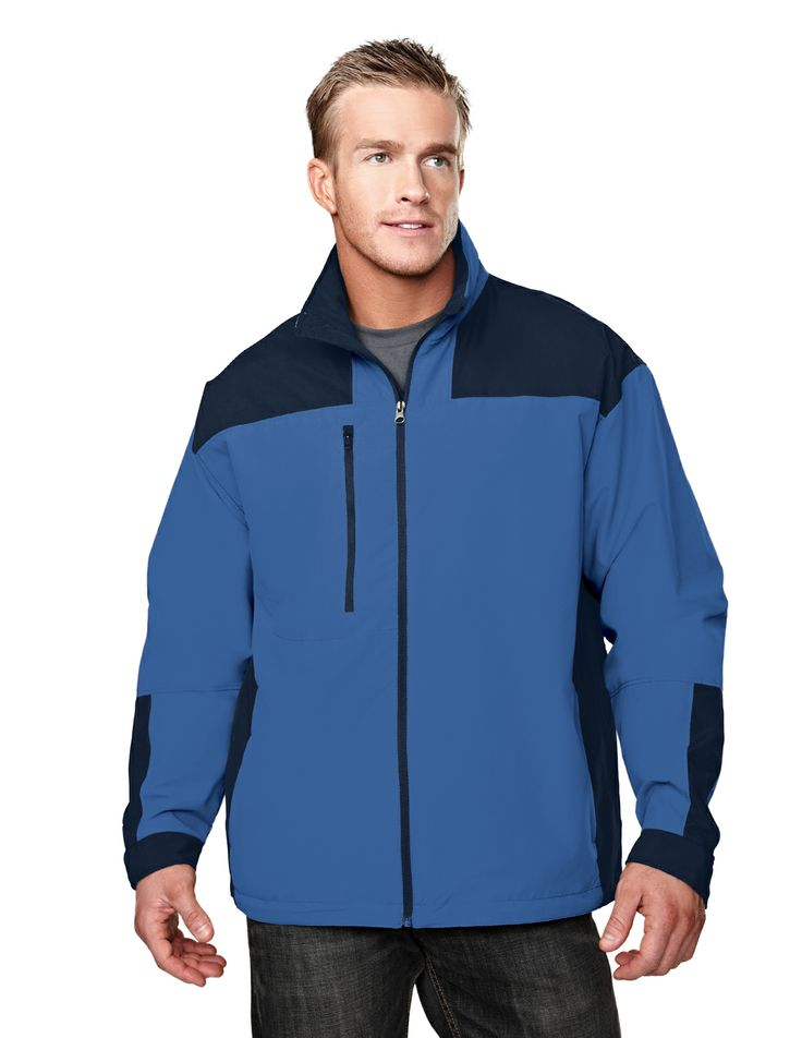 Windproof/Water Resistant Microfiber Polyester Jacket  Style#: Tri mountain 6050 #Jacket #men #polyester #Trimountain #fashion #stylish #Waterproof #Windproof