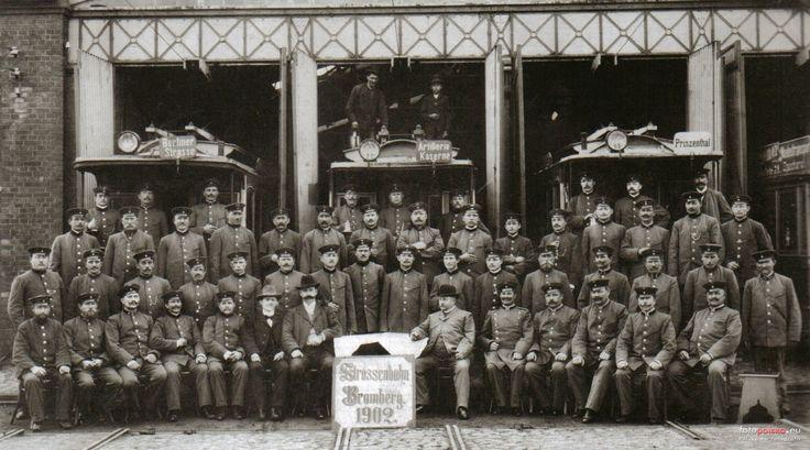 Tramwaje w Bydgoszczy, Bydgoszcz - 1902 rok, stare zdjęcia
