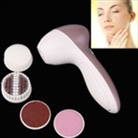 Electric Pedicure Foot Skin Care System Cleaner Tool Spinning Remover+ 4 Attachments