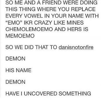Phemol. Demon and Phemol.