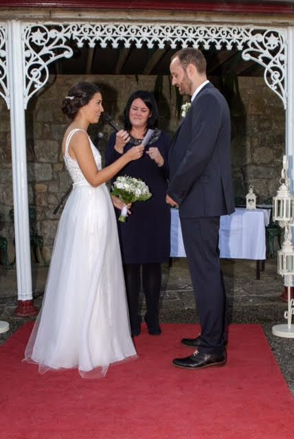 Destination wedding, Co. Wexford Ireland