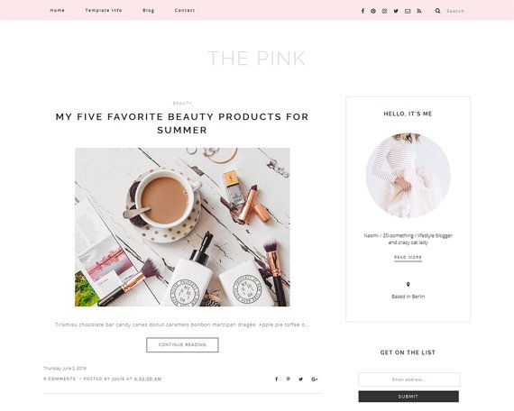25 best ideas about blogger themes on pinterest blogger