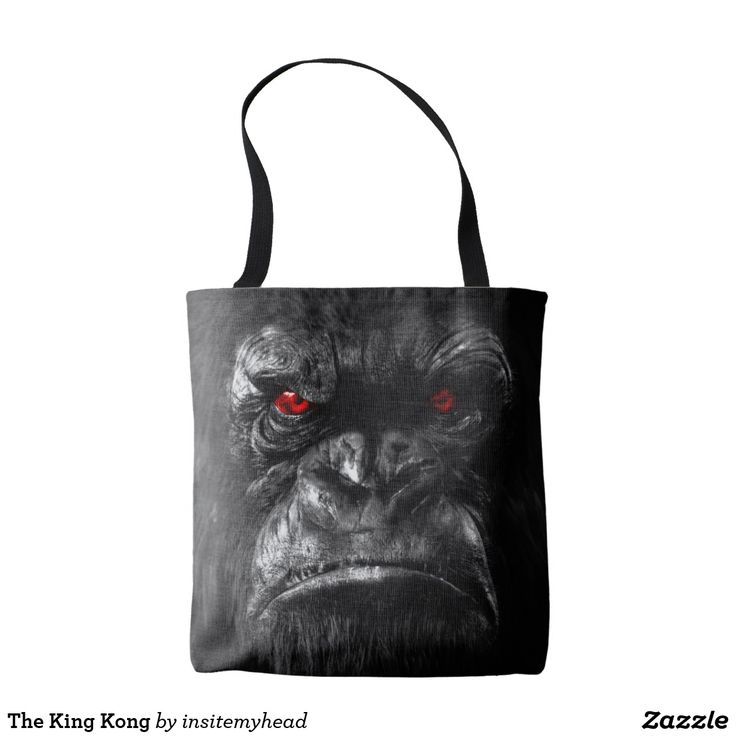 The King Kong Tote Bag #bag #totebag #backpack #travel #gift #black #friday #shopping #product #cool #funny #animal #tiger #lion