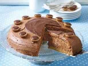 Das Rezept für Toffifee-Torte und weitere kostenlose Rezepte auf LECKER.de