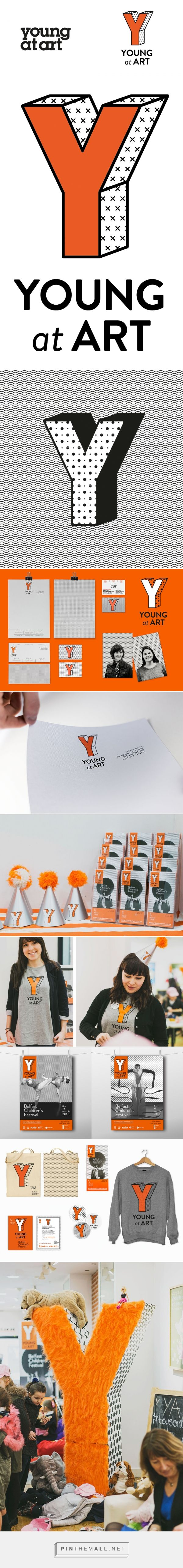 Brand New: New Logo and Identity for Young at Art by Paperjam