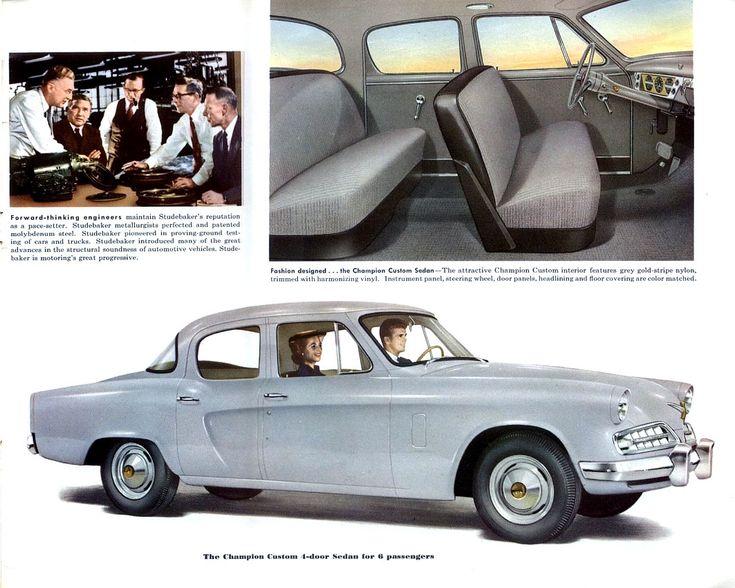 Auto Brochure 1954 Studebaker Champion Custom