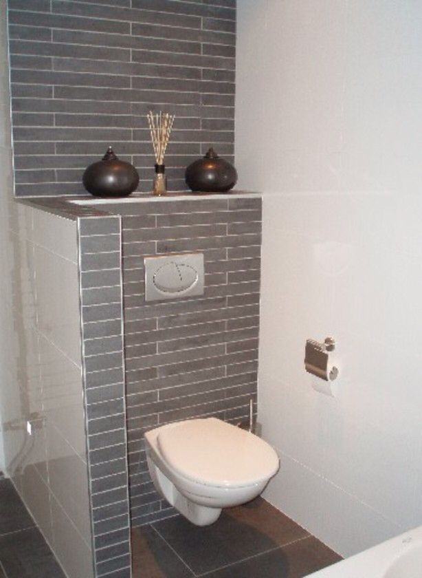 Idee tegels wc muurtje badkamer pinterest tegels wc en badkamer - Doucheruimte idee ...