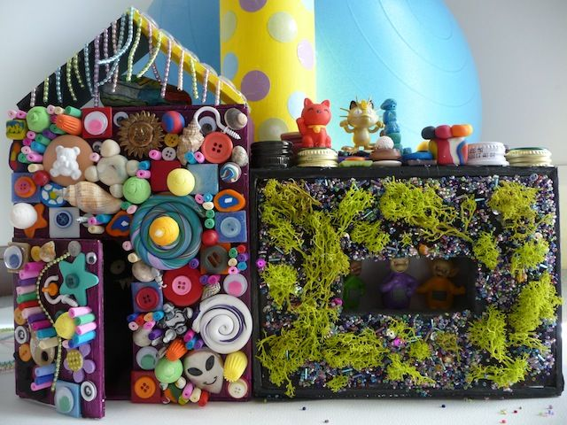 Welcome To The Crazy House - Making a crazy toy house is a great way