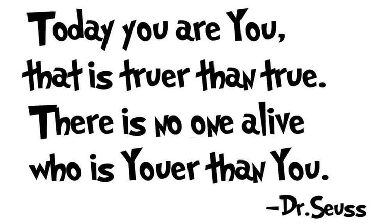 #MotivationMonday  In the words of the immortal Dr Suess ...     #drsuess #catinthehatlives  #thatisall