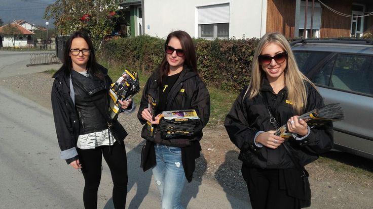 Naše lepe promoterke u akciji u Kruševcu. :)