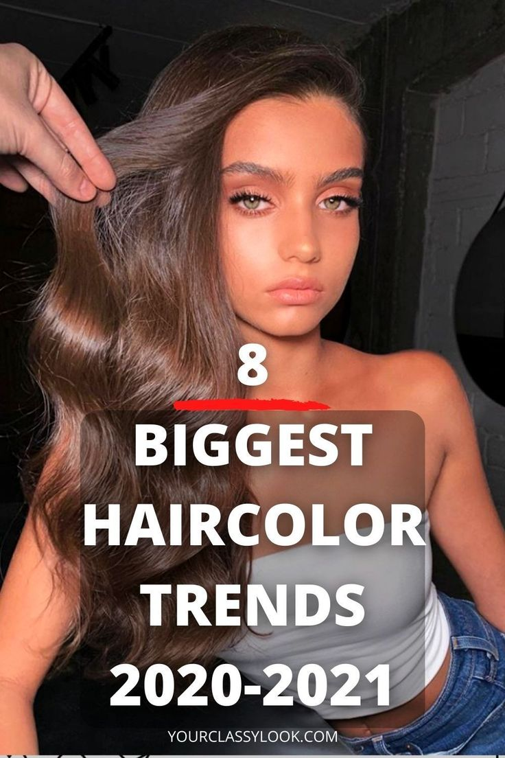 8 Biggest Hair Color Trends & Ideas 2020-2021 - Your Classy Look in 2020 | Hair color trends ...