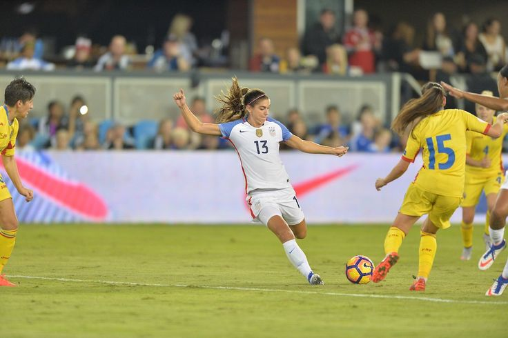 Alex Morgan and Carli Lloyd tie for team lead with 17 goals in 2016!