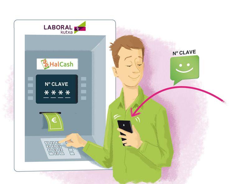 Con LABORAL Kutxa ya puedes sacar dinero de un cajero aunque no lleves la tarjeta contigo