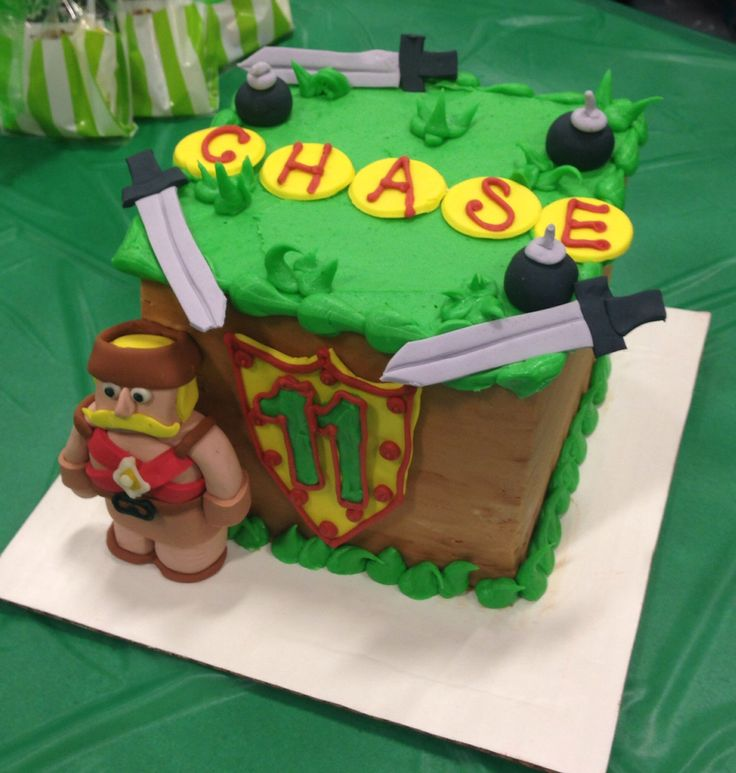 What Is The Clash Of Clans Th Birthday Cake