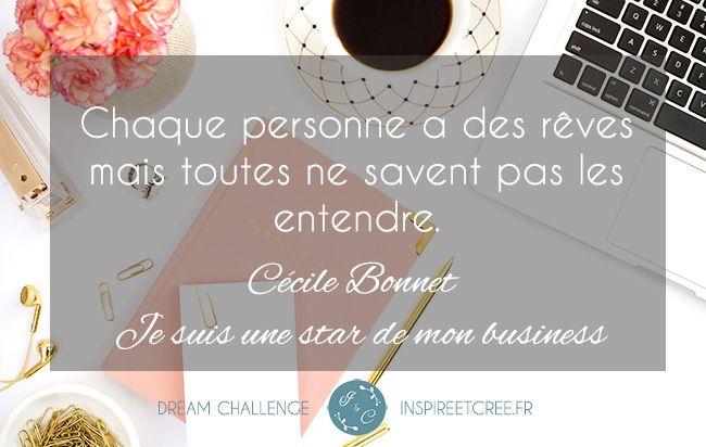 Dream Challenge - Inspiré & Créé Réaliser vos rêves!