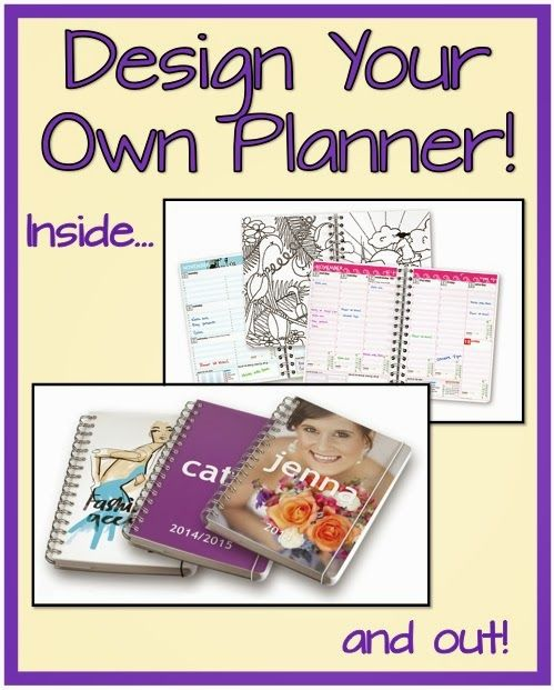 Design Your Own Planner - Review and Giveaway! Giveaway ends November 10.