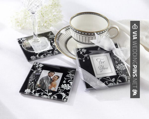 """Sweet - """"Timeless Traditions"""" Elegant Black & White Glass Photo Coasters Sale Price: $1.69 (15% off)  """"Timeless Traditions"""" are the ideal combination of artistry, function and meaningful memories.   CHECK OUT MORE GREAT REHEARSAL DINNER PICS AND IDEAS AT WEDDINGPINS.NET   #weddings #wedding #rehearsal #rehearsaldinner #bachelorparty #events #forweddings"""