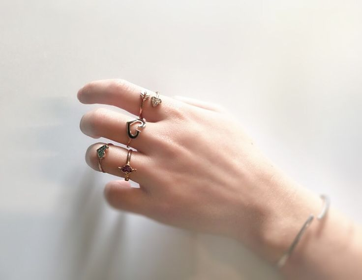 Ring #Partytime  Heart combo