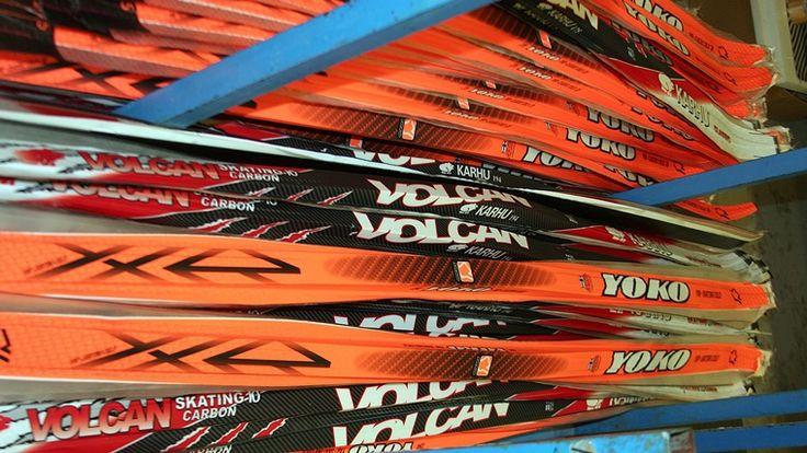 """Журнал """"Лыжный спорт"""": Форум - Как делают лыжи в Финляндии - экскурсия на завод в городе Китее"""