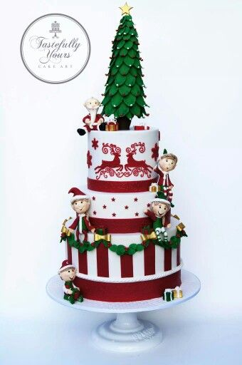 1000+ images about Tartas y cupcakes Navidad... Ideas on ...