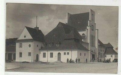 """Gdynia Dworzec Wyd. Zakład Przemysłowy """" FOTOBROM """" Gdynia lata 30-te"""