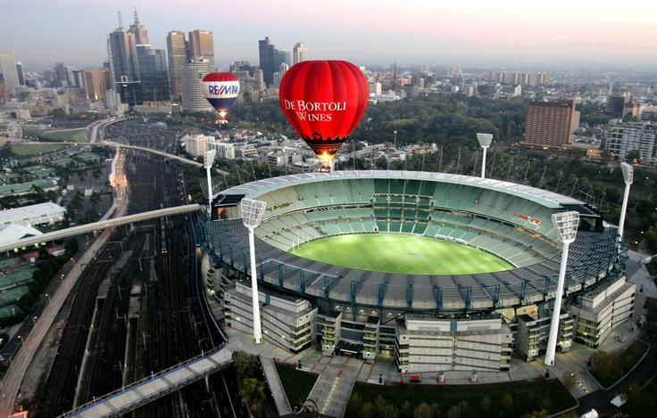 Melbourne's MCG and Skyline