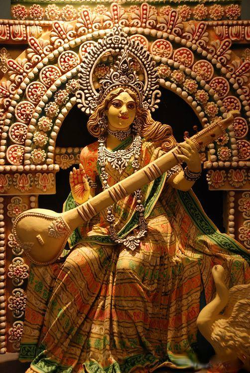 фото индийской богини сарасвати предлагаемом