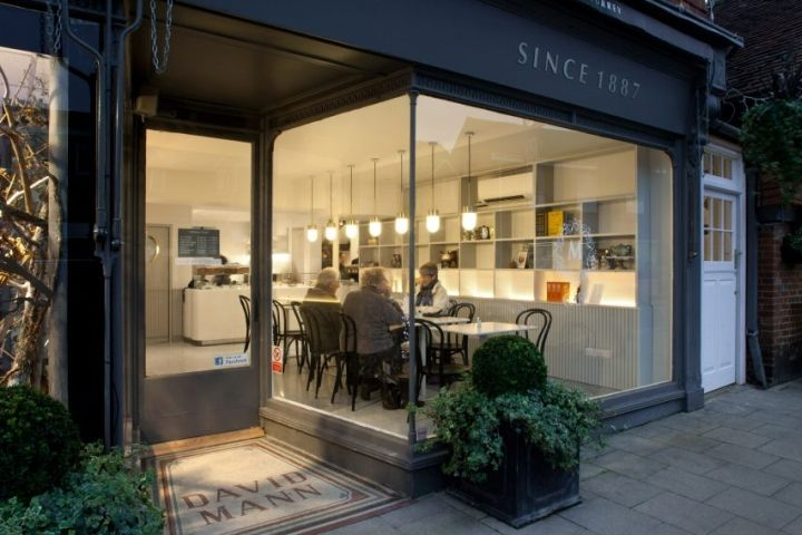 Manns café by vPPR Architects Surrey  UK