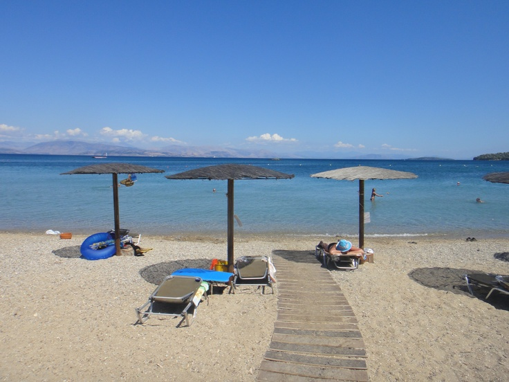 Corfu, Greece (Dassia Beach)    most beautiful beach and ocean i have ever spent 12 days at :) ... for now