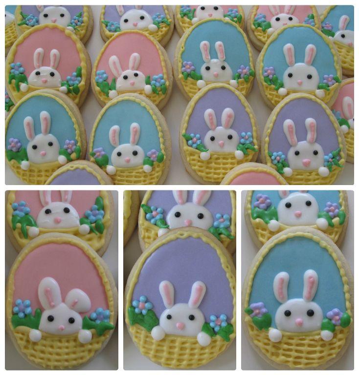 Easter bunnies, by doctorcookies