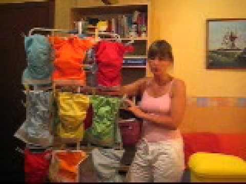 lavaggio e stoccaggio pannolini lavabili