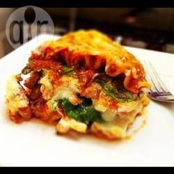 Spinach and turkey lasagne @ allrecipes.co.uk