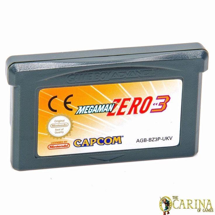 Megaman Zero 3 - Nintendo GBA Gameboy Advance Retro Game Cartirdge UK PAL in Video Games & Consoles, Games   eBay