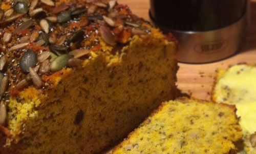Stu: Eating clean non-processed meals can hit hard if you've been raised on bread (weren't we all) as you'll soon realise a void in your daily diet. Emma from Primal-Life over the ditch in NZ has shared an awesome pumpkin loaf recipe that could relieve the pain :) - See more at: http://180nutrition.com.au/2014/01/29/healthy-pumpkin-loaf/#more-14271