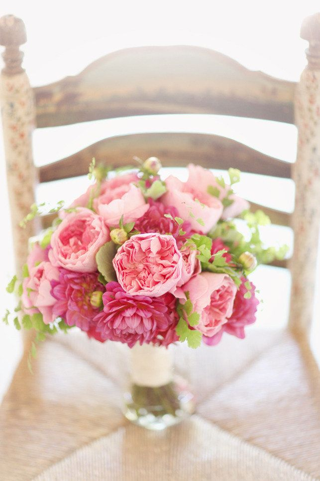 Stunning Pink Bouquet ~ Photography by simplybloomphotog..., Florals by camillaflowers.com