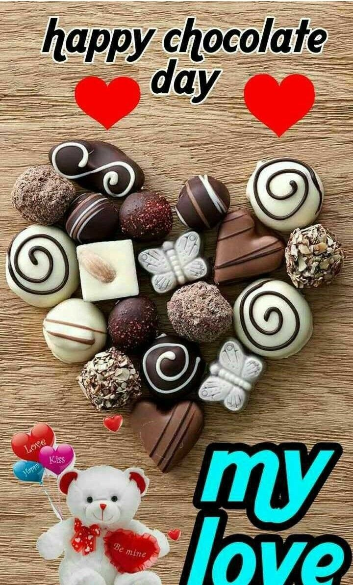 Pin By Uttam Barik On Valentine Day Happy Chocolate Day Chocolate Day Chocolate Happy romantic chocolate day images for