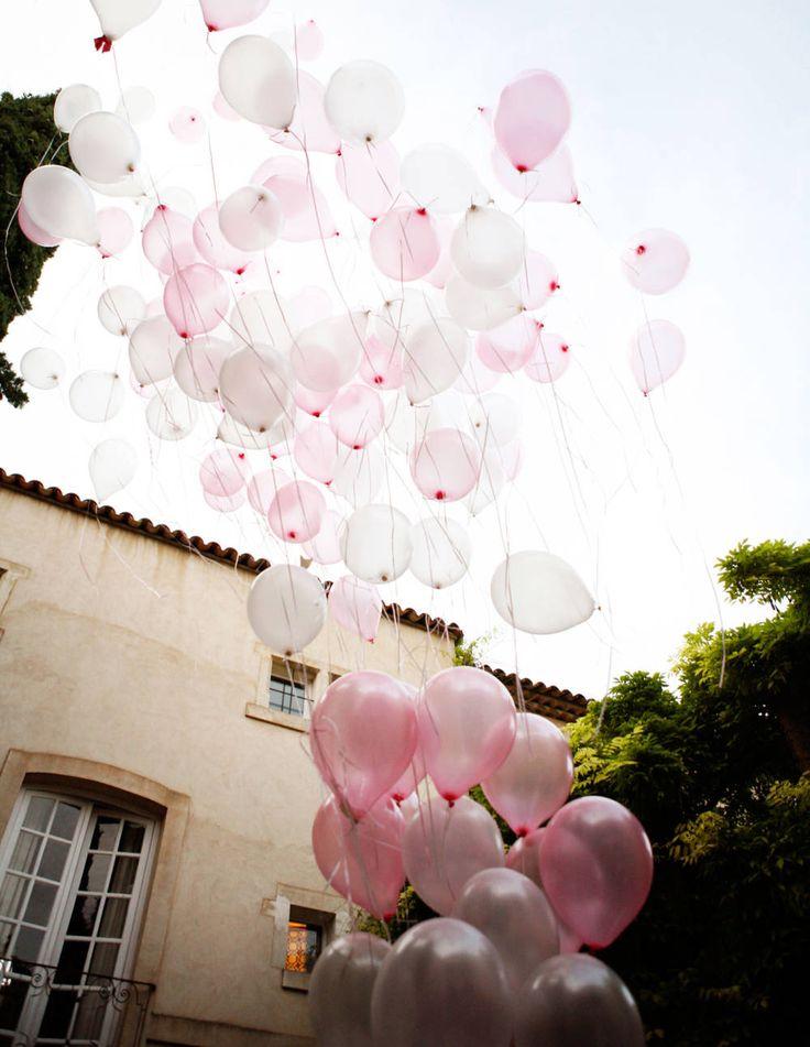 An abundance of balloons