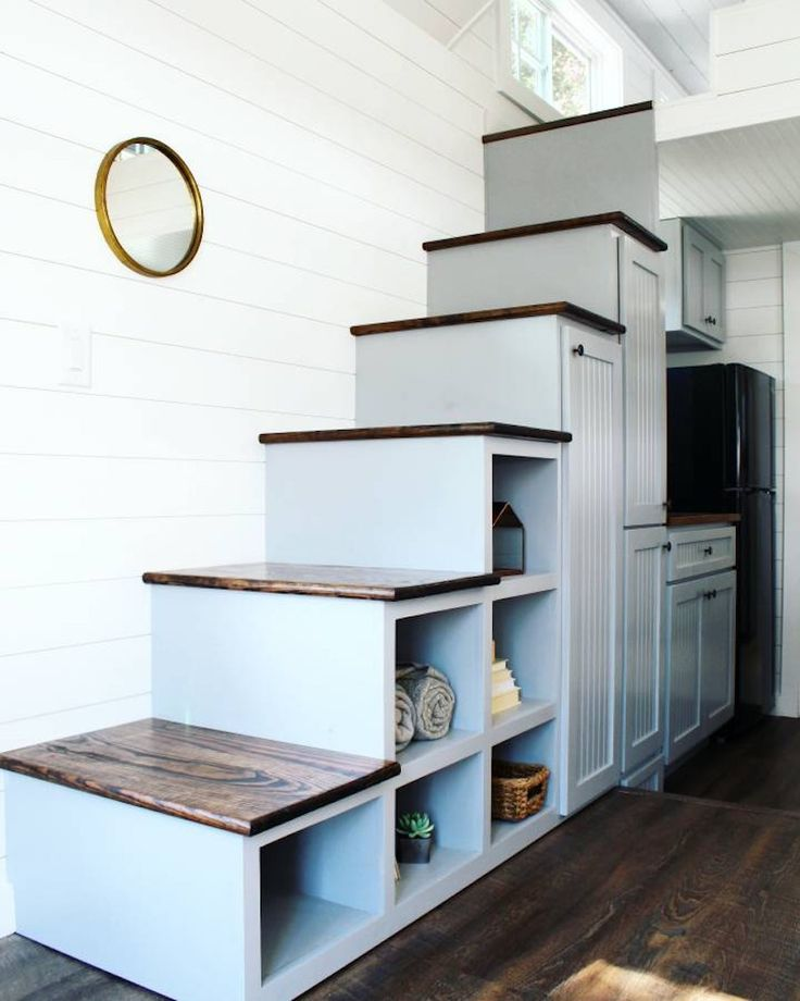 42 best tiny house treppe images on pinterest stairs small houses and tiny house living. Black Bedroom Furniture Sets. Home Design Ideas
