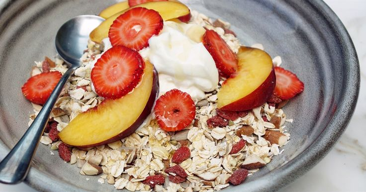Packed with slow-release energy foods, vitamins and all the latest superfoods, this healthy muesli will keep you going throughout your busy day.