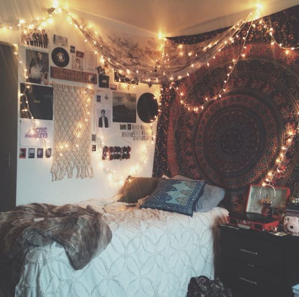 20 Things I Wish I Knew Freshman Year. Tapestry Bedroom BohoTapestry  HeadboardBedroom Decor BohoHippie DormBohemian ...